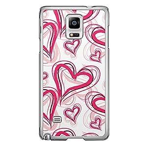 Loud Universe HTC M10 Love Valentine Valentine 112 Transparent Edge Case - Pink