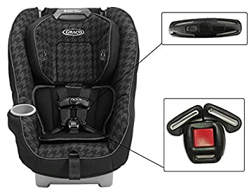 For Graco Contender 65 Convertible Infant Baby Car Seat Harness Chest Clip Buckle Set