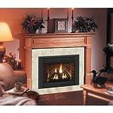 Claremont Flush Fireplace Mantel in Light Golden Oak
