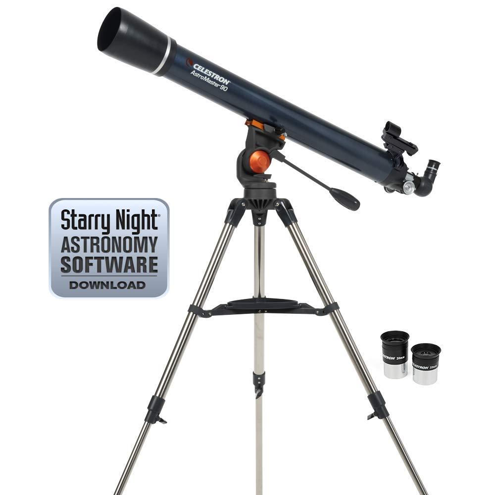 00150878 Celestron Astromaster 60AZ LT Refractor Telescope Gran Bretana Import