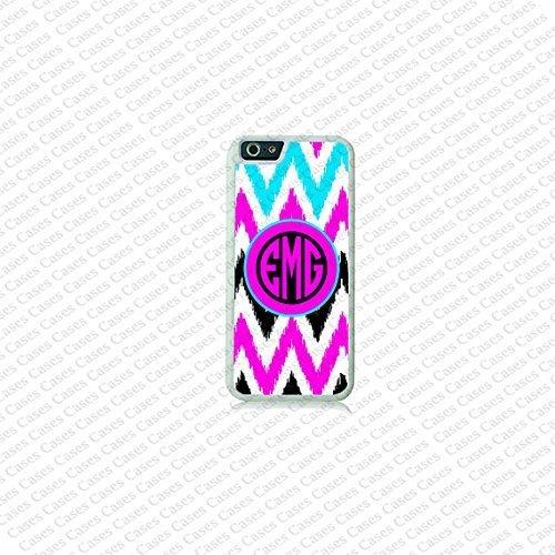 Krezy Case Chevron Pattern Monogram iPhone 6 Plus Case, Monogram iPhone 6 Plus Cover, Custom iPhone 6 5.5 inch...
