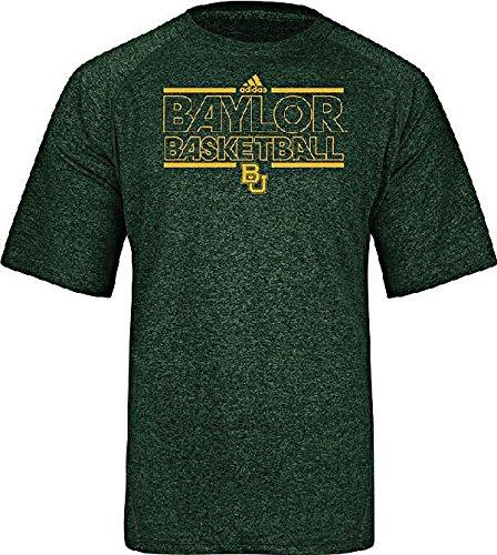 cd847282501 Amazon.com : Baylor Bears Green Climalite Short Sleeve Basketball ...