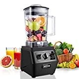 Blenders, Aicok Professional Smoothie Blender 30,000RPM, with 70oz BPA-Free Tritan Pitcher, Programmable Settings for Smoothie and Ice Crushing, 1400W, Black
