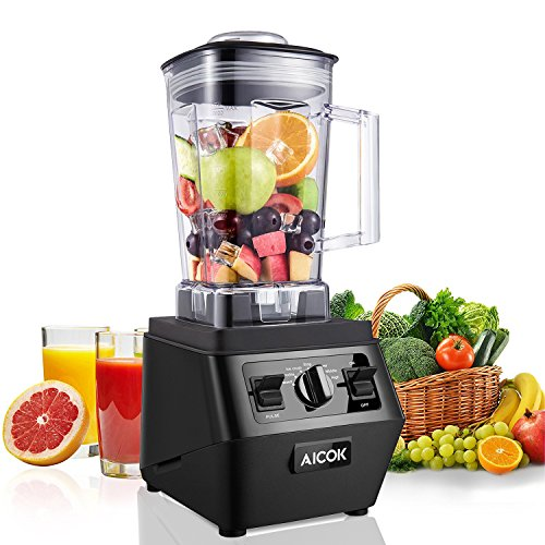 Blenders, Aicok Professional Smoothie Blender 30,000RPM, with 70oz BPA-Free Tritan Pitcher,...