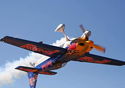 Sconosciuto Team Chambliss Red Bull Air Race Aereo Poster 10936 (A3
