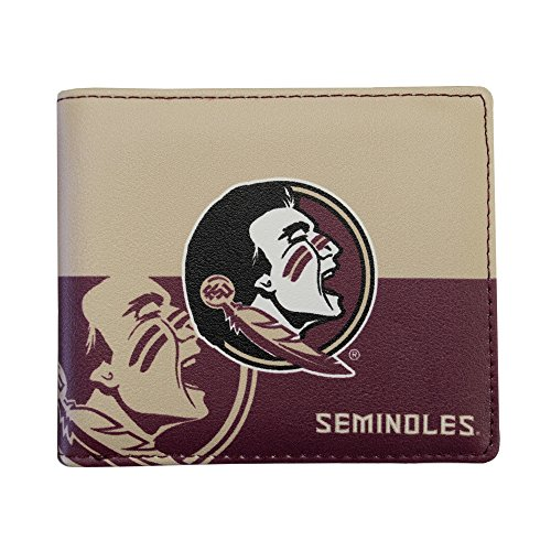 State Florida Card Credit (NCAA Florida State Seminoles Bi-fold Wallet)