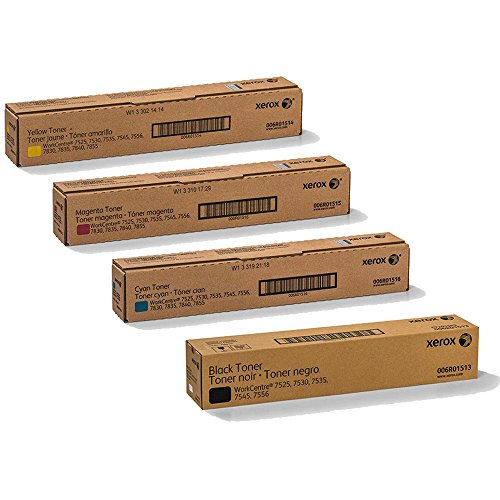 Xerox 006R01513, 006R01514, 006R01515, 006R01516 Toner Cartridge Set - WorkCentre 7845