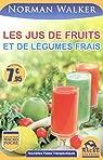 Les jus de fruits et de légumes frais par Walker