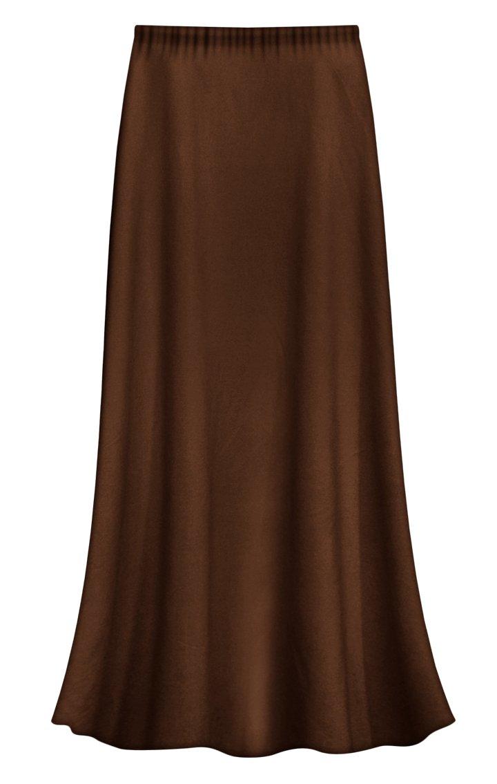 Sanctuarie Designs Solid Green Slinky Plus Size Supersize Skirt