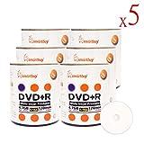 Smartbuy 3000-disc 4.7gb/120min 16x DVD+R White Inkjet Hub Printable Blank Data Recordable Media Disc
