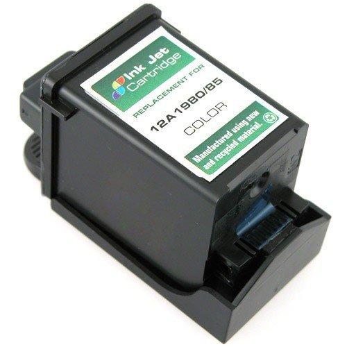 Take4Less 1-pack Color 12A1980 80 Remanufactured ink Cartridge for LEXMARK Z11 Z31 3200 5700 5770 7000 7200 7200V Color Jetprinter Optra Color 40 45 IJ300 ...