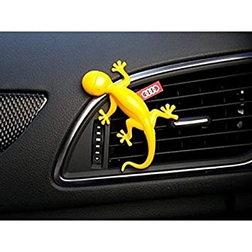 Amazon.es: Audi Original dispensador de Fragancia Gecko Amarillo 000087009 °C