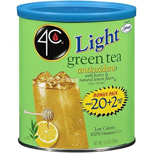 - 4C Light Green Tea Iced Tea Mix 22 qt. (Pack of 3)