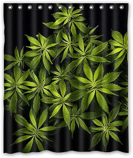 Muuyi Spring Summer Butterflies Shower Curtain Set Polyester Fabric Waterproof