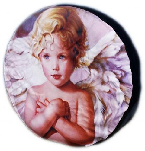 WHEEL COVER WHEELCOVER SPARE TYRE TIRE 4X4 ANGEL BOY FOR ALL SIZES - LET US KNOW YOUR SIZE BargainworldUK