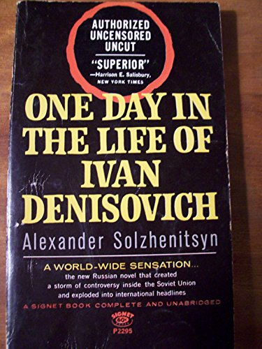 An analysis of a day in the life by ivan denisovich