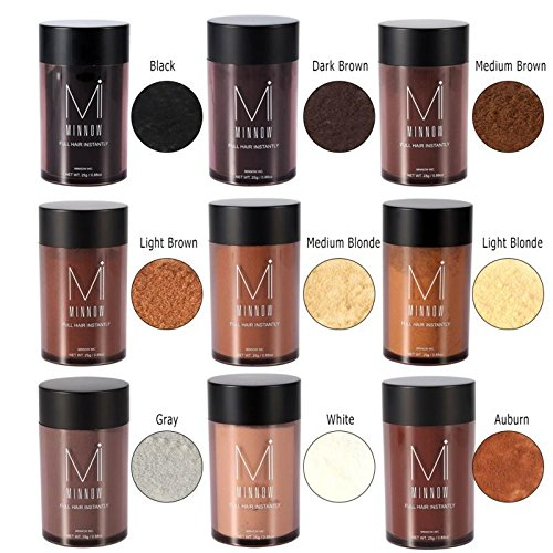 9 Types Fashion Women Men Baldness Concealer Thickening Hair Building Fibers Powder AxiEr