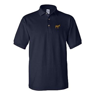 Amazon.com: Polo Camisa Burro Donkey bordado Animal Nombre ...