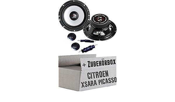 Citroen Xsara Picasso - Ground Zero gzic 650 x - 16 cm sistema de altavoces - Empotrable Set: Amazon.es: Electrónica