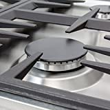 Z Line E30-RC Professional Dropin Cooktop With 4 Gas Burners, Stainless Steel