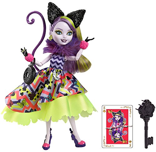 Ever After High Way Too Wonderland Kitty Chesire Doll -