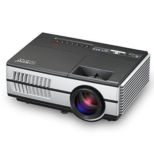 Mini projector portable 1080p led lcd projector outdoor for Portable projector with hdmi input