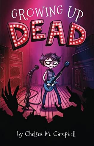 book cover of Growing Up Dead