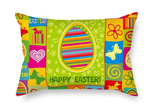 TonyLegner Cushion Covers Easter Valentine Bar Son Birthday Drawing Room Girls 20 X 30 inches / 50 75 cm(Each Side)