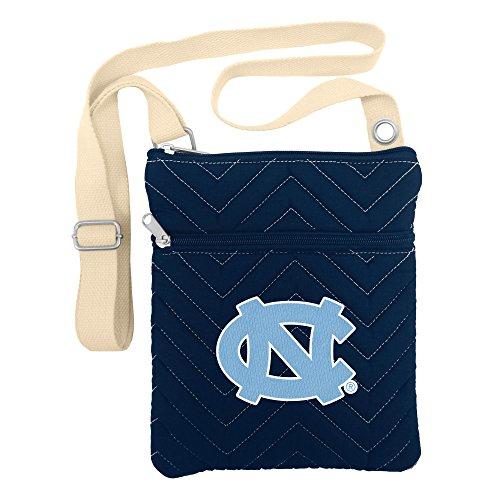 NCAA North Carolina Tar Heels Chev-Stitch Cross -