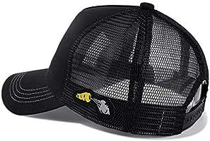 Bunny Fashion Adjustable Cotton Baseball Caps Trucker Driver Hat Outdoor Cap Black