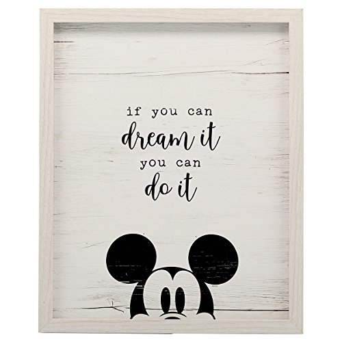 (Open Road Brands Mickey Mouse Dream It Framed Wall)