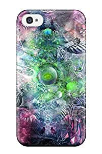 5319951K67850032 Protection Case For Iphone 4/4s / Case Cover For Iphone(psychedelic)