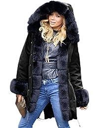 321c90e90 Women's Plus Fur Faux Fur Jackets Coats | Amazon.com