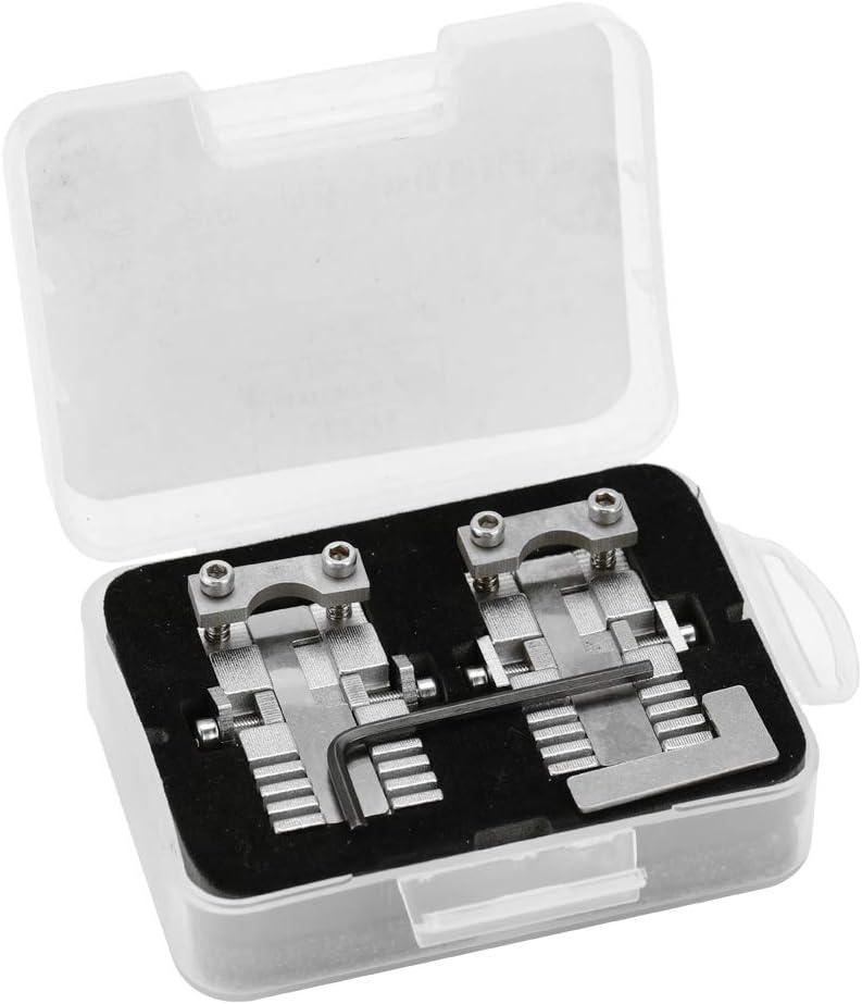 Máquina multifuncional de sujeción de sujeción de sujeción de llaves para la herramienta de copia de llaves de automóviles de acero inoxidable universal