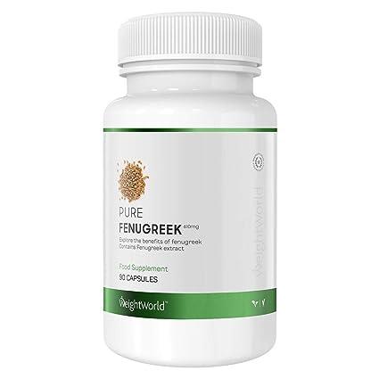 Fenogreco Puro - Inhibidor Natural Del Apetito - Mejora Los Niveles De Testosterona - Ayuda Para