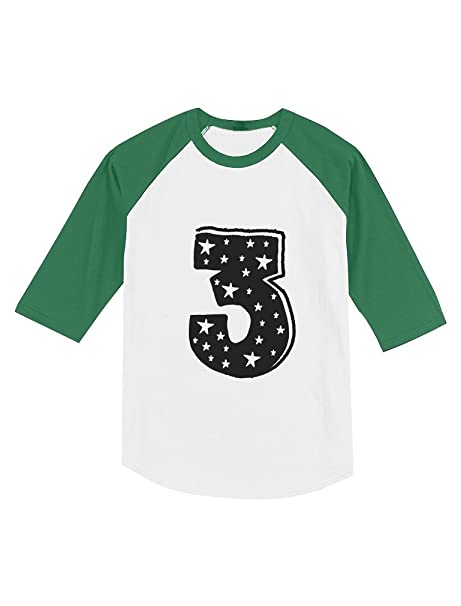 Im 4 Years Old Birthday Gift Superstar 3//4 Sleeve Baseball Jersey Toddler Shirt