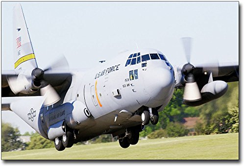 C-130 Hercules Aircraft Air Force 12x18 Silver Halide Photo (Air Force Aircraft Photos)
