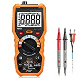 Digital Multimeter Auto-Ranging Multi Tester with True RMS 6000 Counts NCV Detection Volt Amp Ohm Meter,LCD Backlight and Flashlight