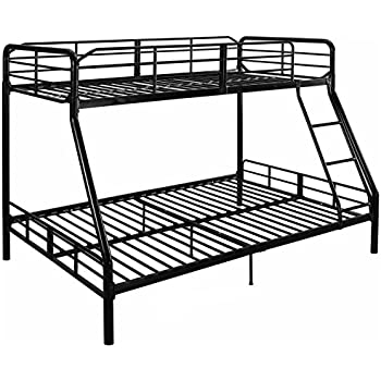 Amazon Com Mainstay Twin Over Full Bunk Bed Kids Teens