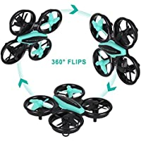 JT Drone RC Mini Drone Quadcopter 2.4GHz 4CH 6-Axis Headless Mode Remote Control Toy Drone with LED Light Easy to Fly,Fun Gift for Kids