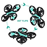 HT Drone Mini RC Drone Quadcopter 2.4GHz 4CH 6-Axis Headless Mode Remote Control Toy Drone with LED Light Easy to Fly,Fun Gift for Kids