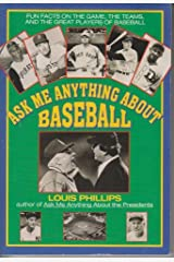 Ask Me Anything About Baseball (Avon Camelot Book) Paperback