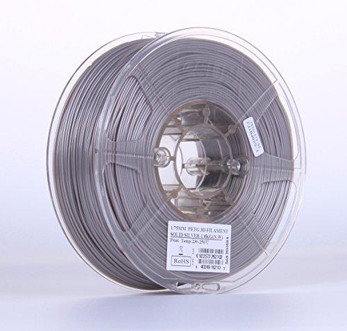 eSUN Silver Filament Printer Diameter