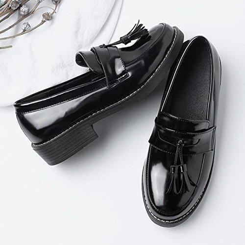 Melady Mujer 3 Brogue Clasico black Zapatos dd4zrgwqnx