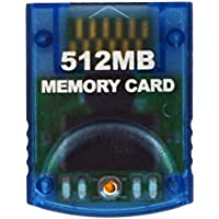 HDE GameCube Memory Card 512MB (8192 Blocks) for Nintendo...