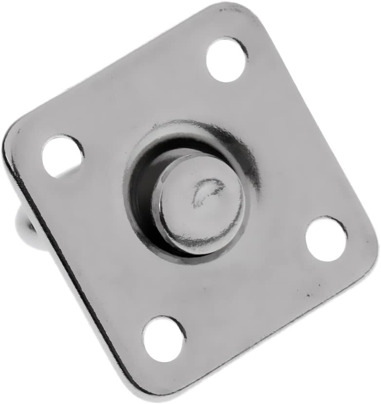 KESOTO 2 Units Rotating Square Eye Plate For Corrosion Resistance In Salt Water Environment