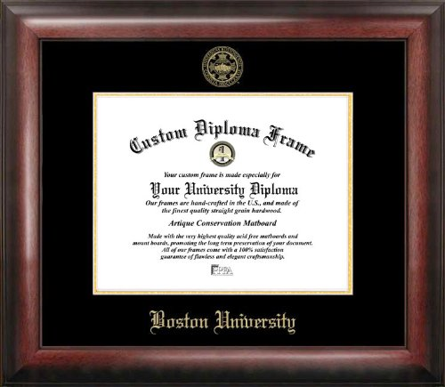 Boston College Diploma Frame - Campus Images MA993GED Boston University Embossed Diploma Frame, 11
