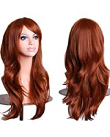 "Cosplay Inshop 28 "" Long Big Wavy Hair Heat Resistant Cosplay Wig Free Shipping"
