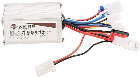 VGEBY Controlador de Motor Cepillado, 24V 250W Velocidad de ...