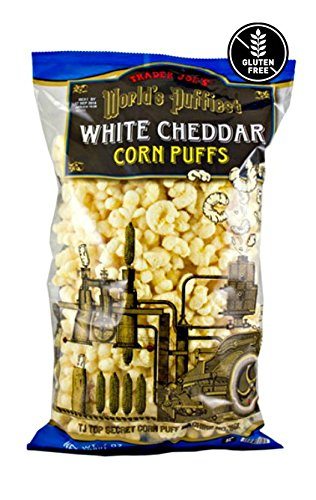 Trader Joe's World's Puffiest White Cheddar Corn Puffs - 7 oz (198g) ()